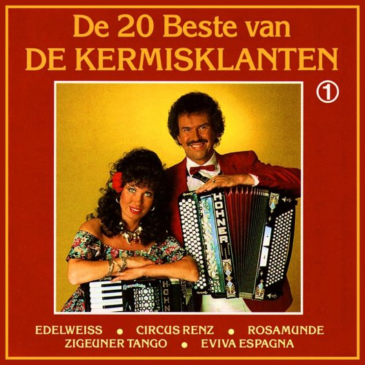 FRONT - De Kermisklanten - De 20 Beste Van ... Vol.1 - ACCORDION