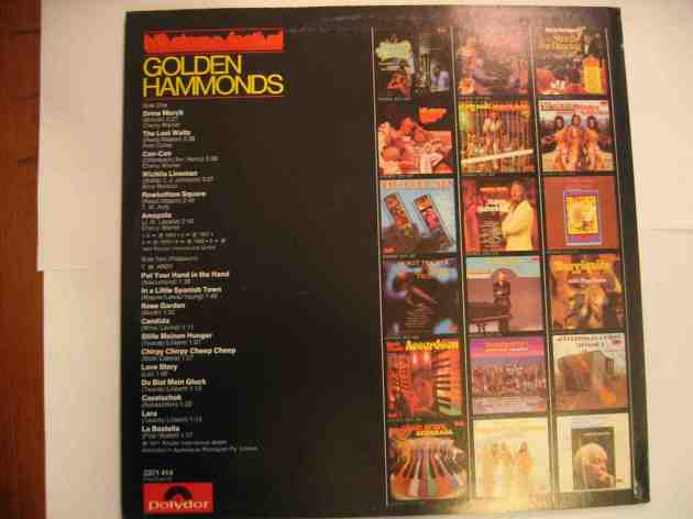 GOLDEN HAMMONDS 2