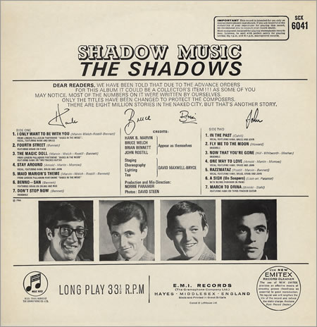 SHADOWS Shadow music (Drina March) 2