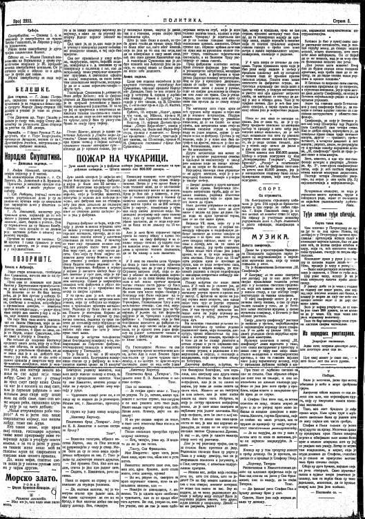 S BINICKI POLITIKA 1910, 2233
