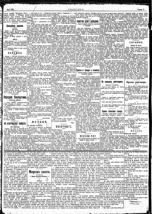 S BINICKI POLITIKA 1910. 2234