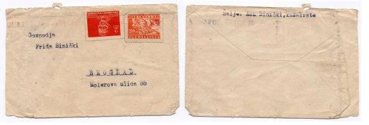 Koverti porodice BINICKI 2